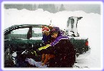 """This wasn't as fun as the JetSki, and besides, the goggles make me look stupid!"" Logan Canyon 2/99"